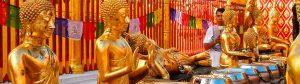 El templo Wat Pra that Doi Suthep en Chiang Mai