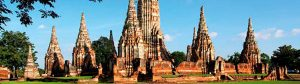 El templo Wat Ratchaburana de Ayutthaya