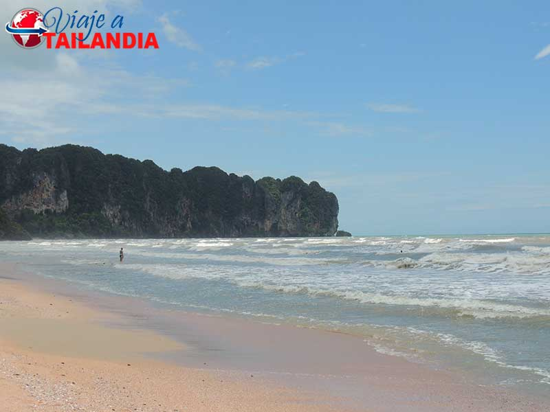 Playa Ao Nang Krabi Tailandia