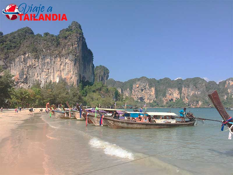 Playa de Railay Krabi Tailandia